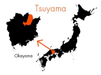 岡山県津山市